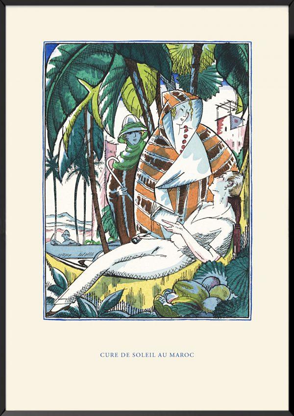 Illustration robert bonfils cure de soleil