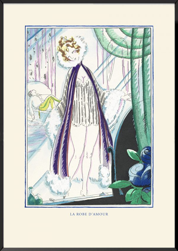 Illustration robert bonfils la robe d'amour