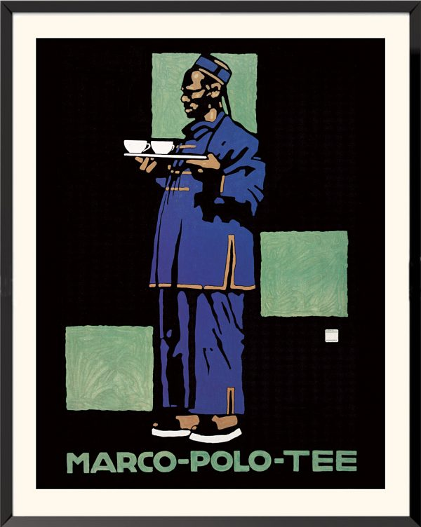 Affiches ludwig hohlwein marco polo tee