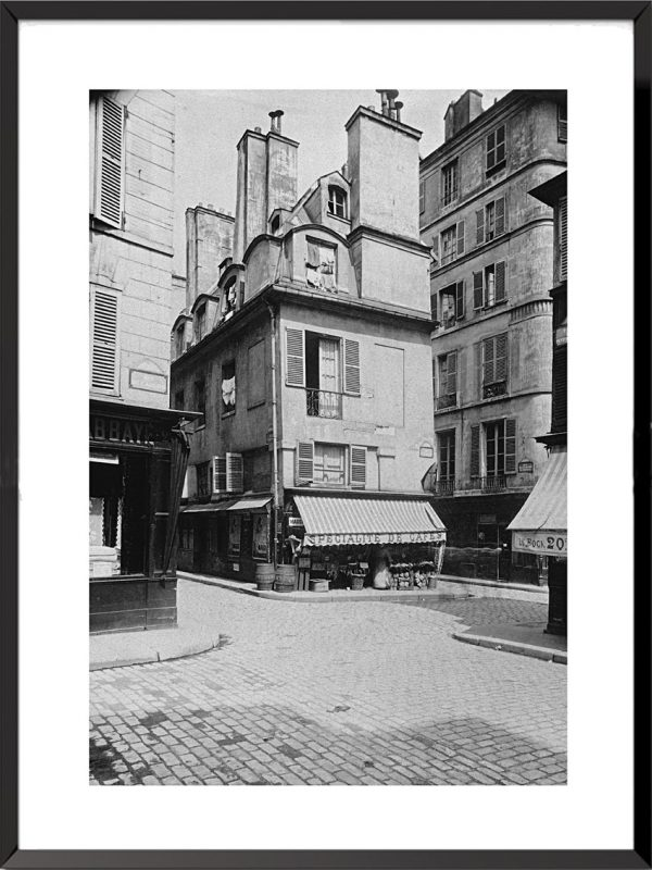 photo eugene atget paris angle rue abbaye et cardinale